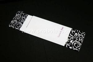 Προσκλητήριο μαυρόασπρο λουλούδι