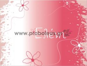 Σουπλά ζωγραφιά λουλούδια